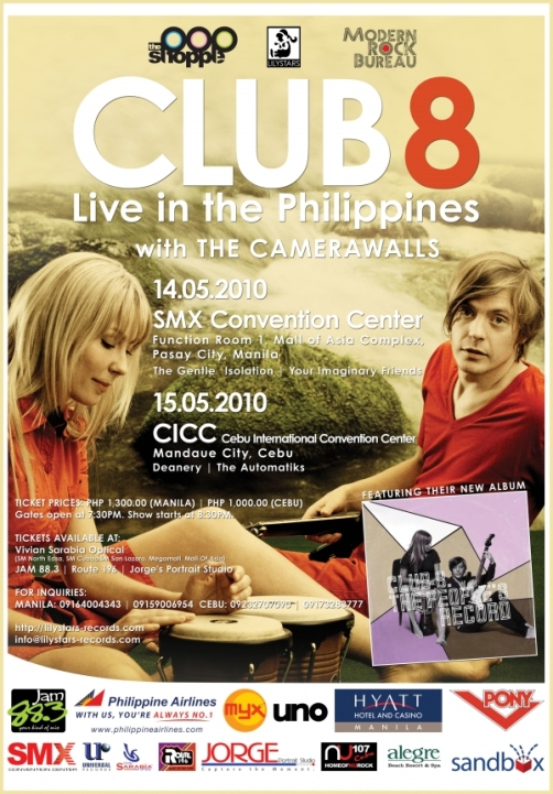 Club 8 Poster
